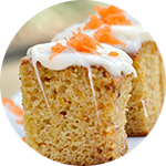 Carrot Bread _ Lemon Glaze
