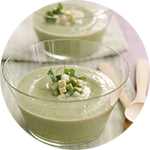 Cucumber Cream Soup
