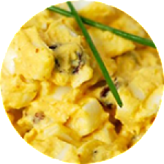 Curried Eggs