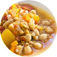 Lentil Chick Pea Stew